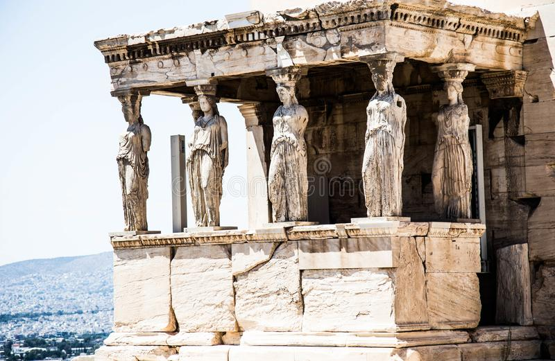 Ancient Greece. Greece is considered the cradle of Western civilization, being the birthplace of democracy, Western philosophy, the Olympic Games, Western royalty free stock photos