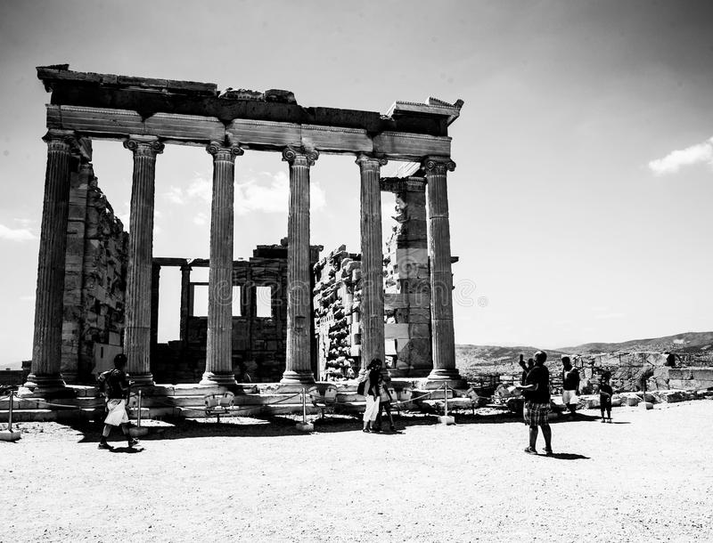 Ancient Greece. Greece is considered the cradle of Western civilization, being the birthplace of democracy, Western philosophy, the Olympic Games, Western royalty free stock photo