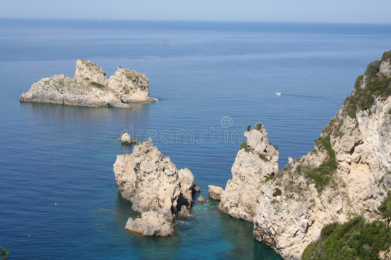 Greece. Corfu royalty free stock photos