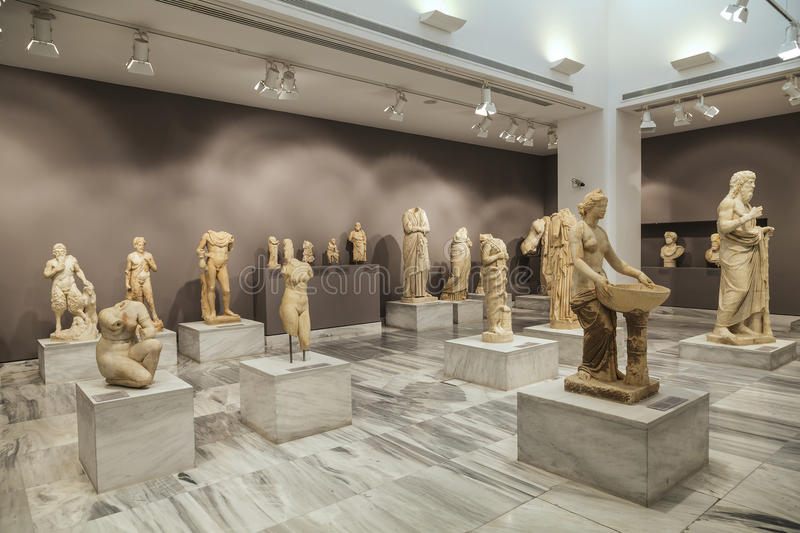 Greece, Crete. Archaeological Museum in Heraklion. stock photos