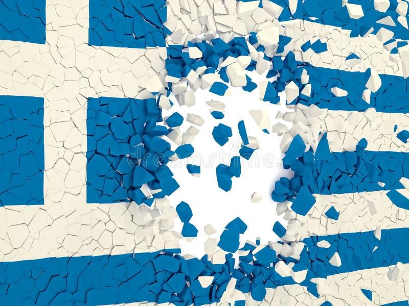 Greece fail vector illustration