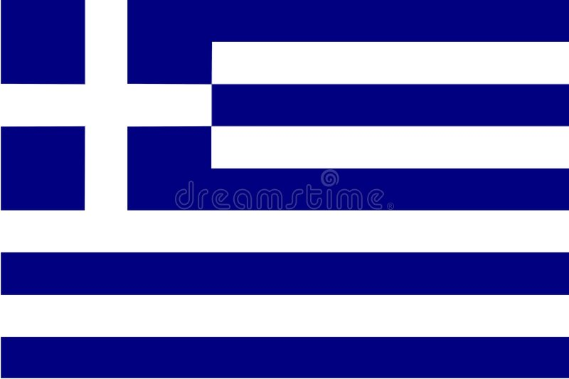 Greece flag royalty free stock image