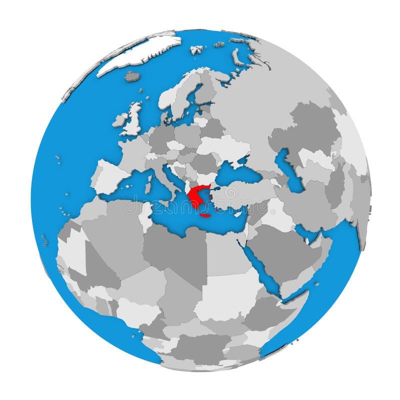 Greece on globe stock illustration illustration of region 83797588 greece on globe gumiabroncs Choice Image
