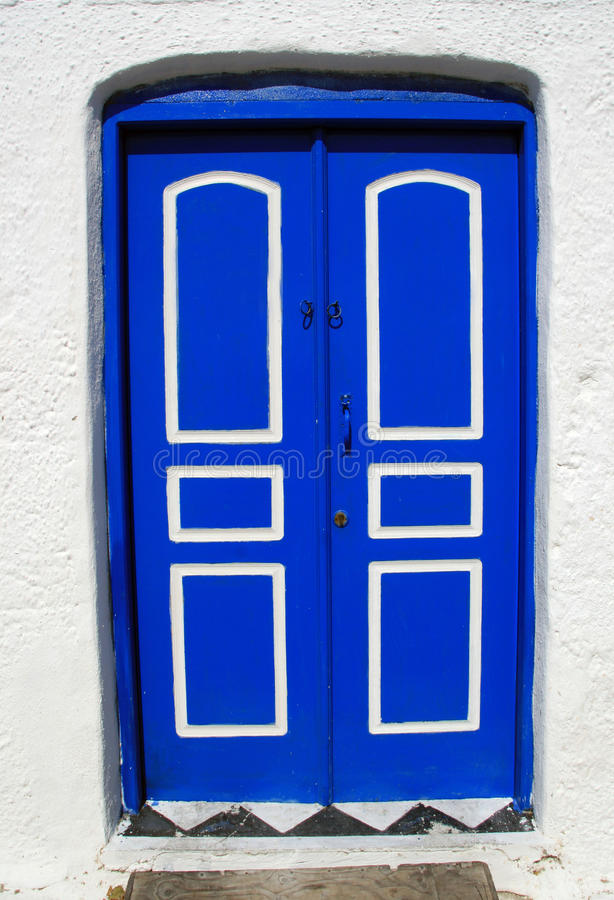 Download Greece, Greek Door Royalty Free Stock Images - Image: 14700729