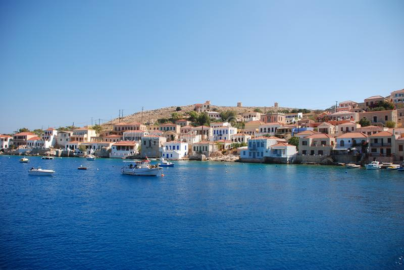 greece halkiö arkivfoto