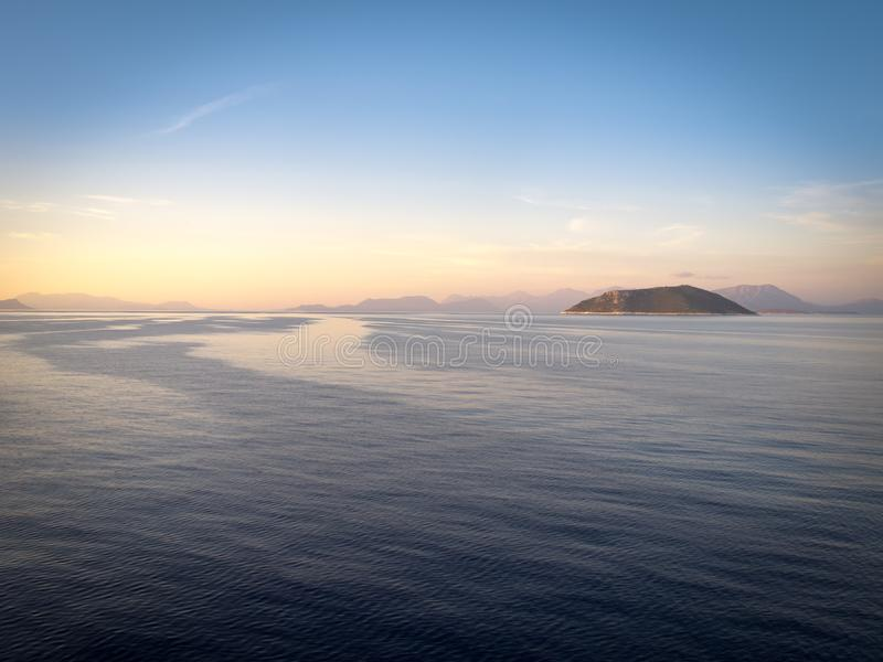 Greece ionian hav