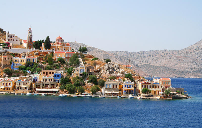 Greece. Island Symi royalty free stock images