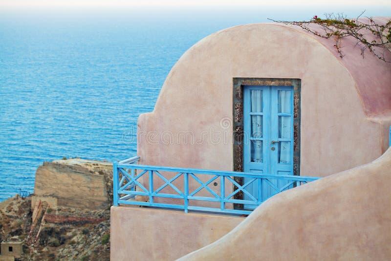 Greece landscape. Architecture detail, Santorini.  royalty free stock photography