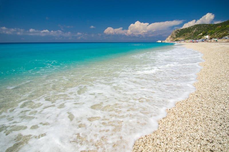 Greece - Lefkada - Kathisma beach royalty free stock photography