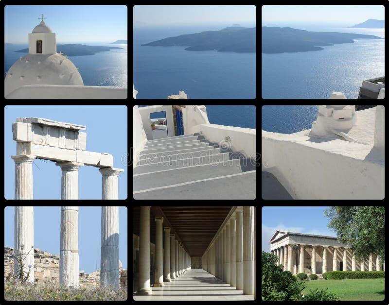 greece lopp royaltyfria foton