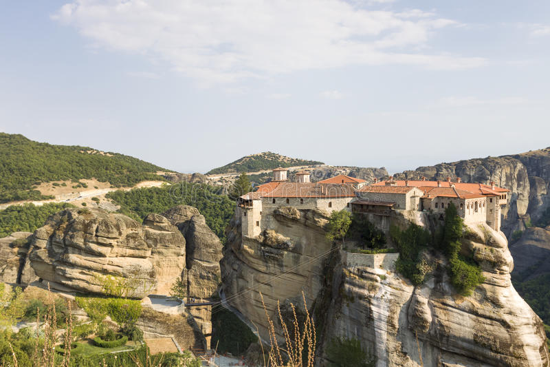 Download Greece - Meteora stock photo. Image of summer, sunny - 33678128