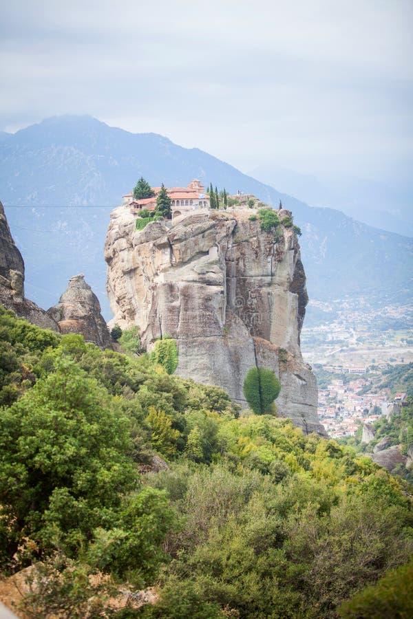 Download Greece meteorakloster arkivfoto. Bild av greece, pittoreskt - 78726866