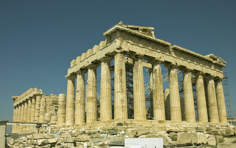 greece monument arkivbild