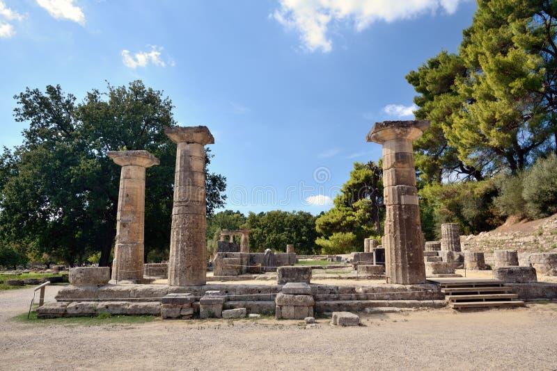 greece olympia fotografering för bildbyråer