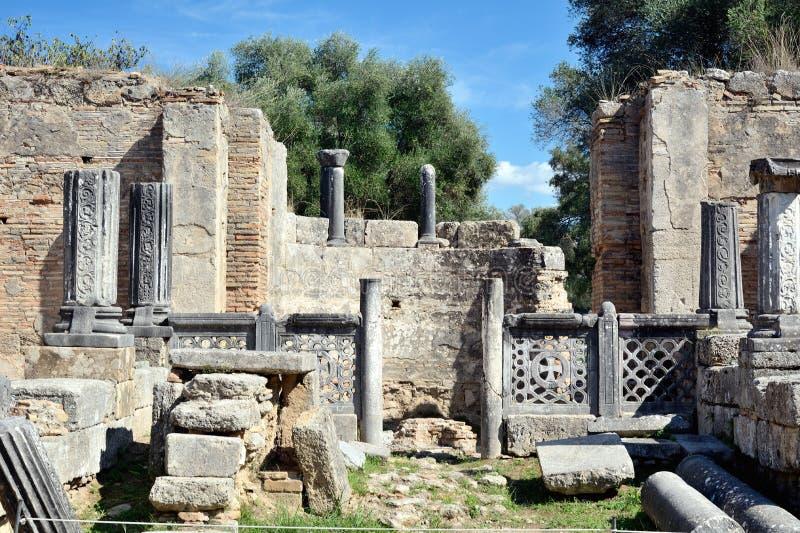greece olympia royaltyfria foton