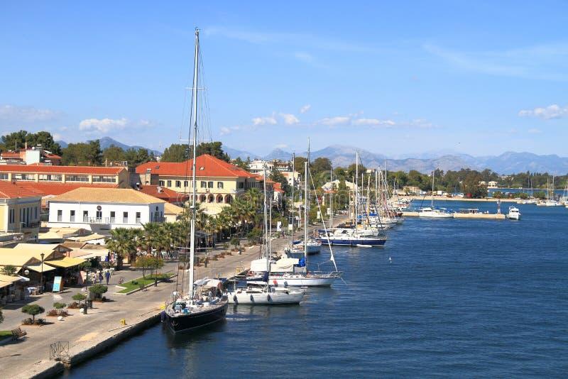 Greece/Preveza: Seaside Boulevard Editorial Stock Image