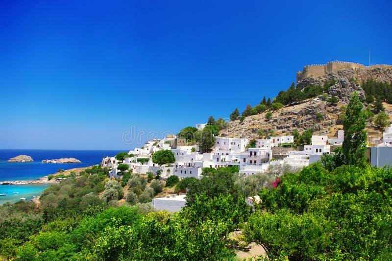 greece rhodes arkivfoton