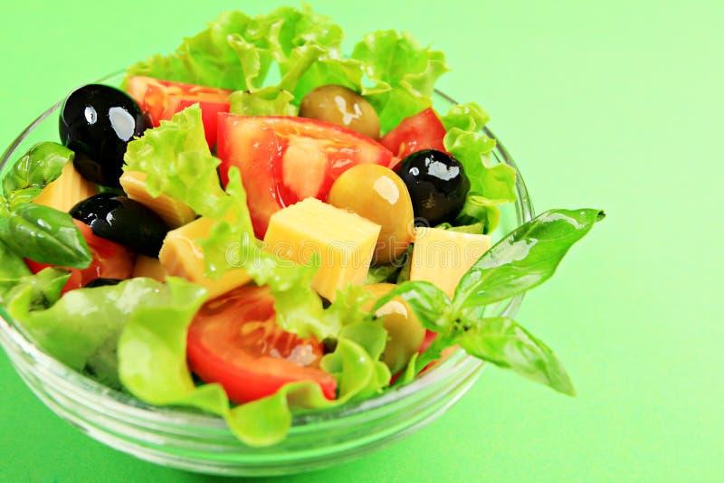 Greece salad royalty free stock photo