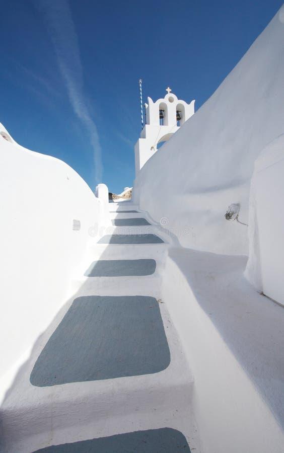 greece santorini perfect biel zdjęcie stock