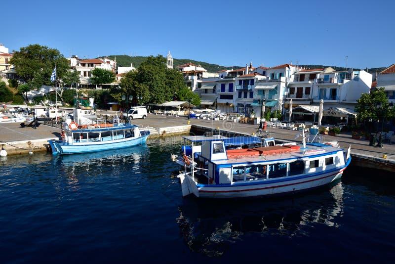 Greece, Skiathos, Skiathos Town stock image