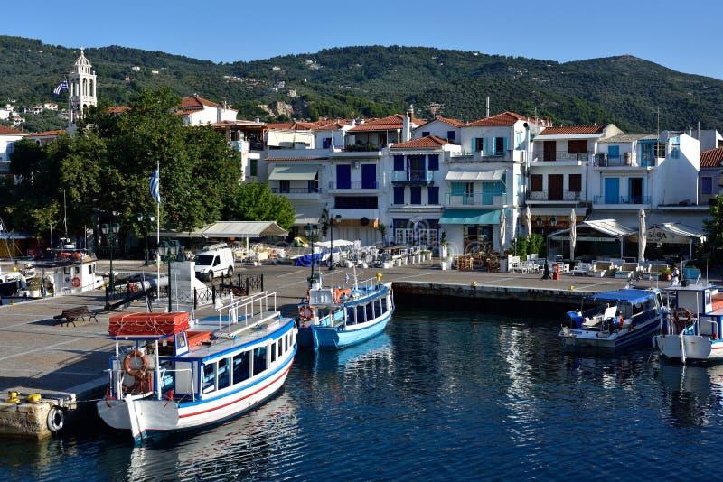 Greece, Skiathos, Skiathos Town royalty free stock images