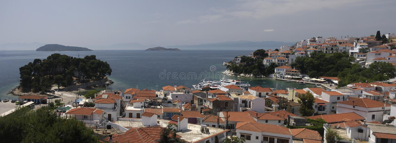 Greece Skyatos Island stock photography