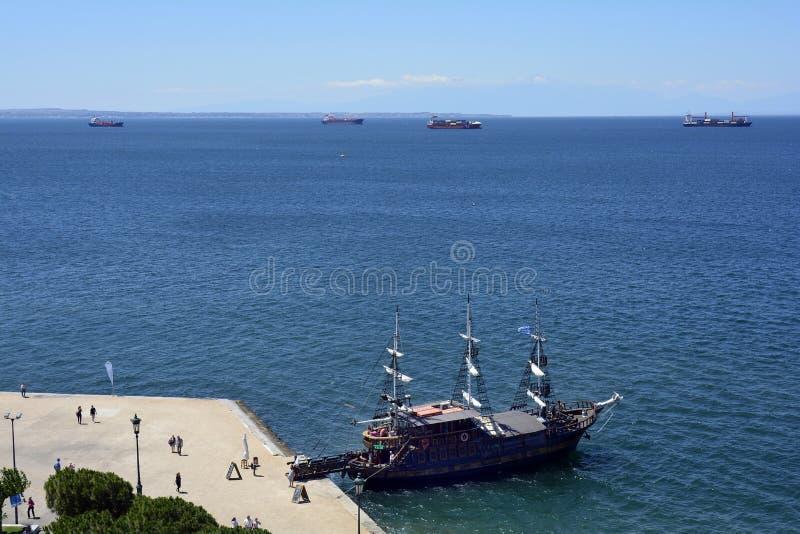 Greece, Thessaloniki stock images