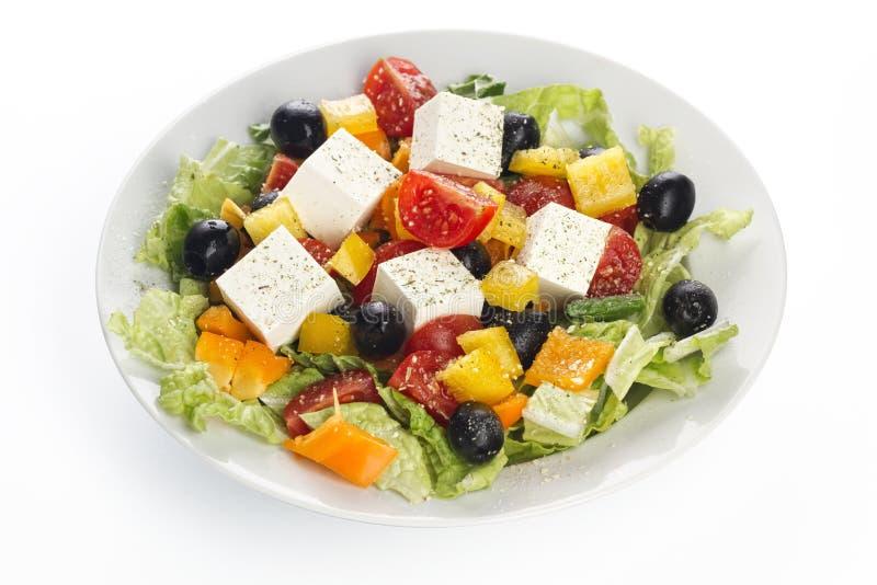 Greece Vegetable Salad Stock Photos