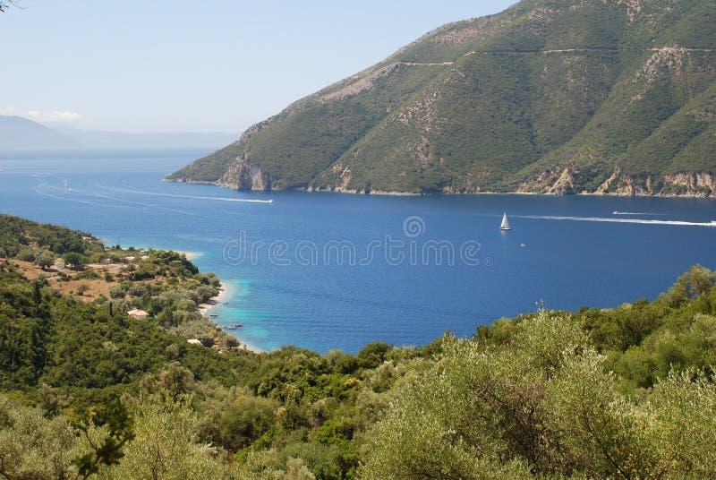 greece wyspy meganissi zdjęcie royalty free