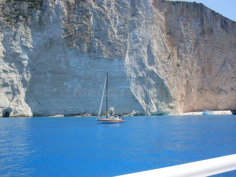 Greece zakinthos royalty free stock image