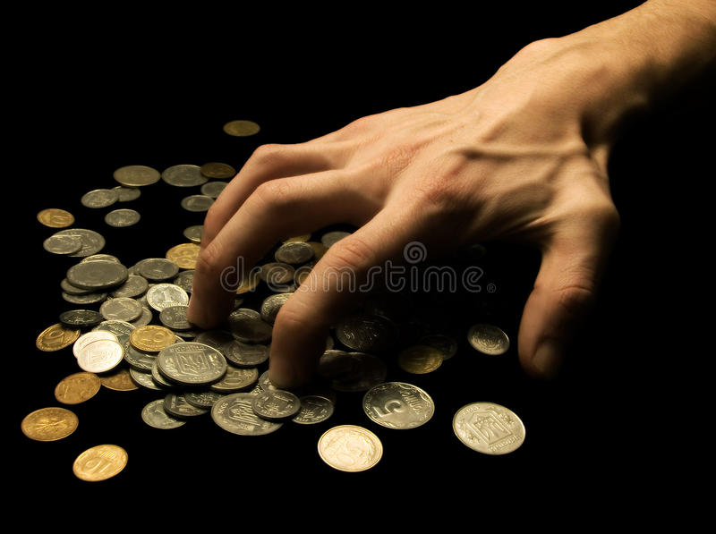Greed stock photography
