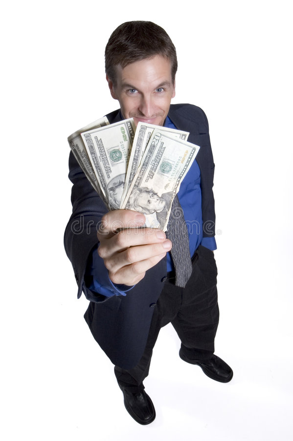 Greed is good royalty free stock images