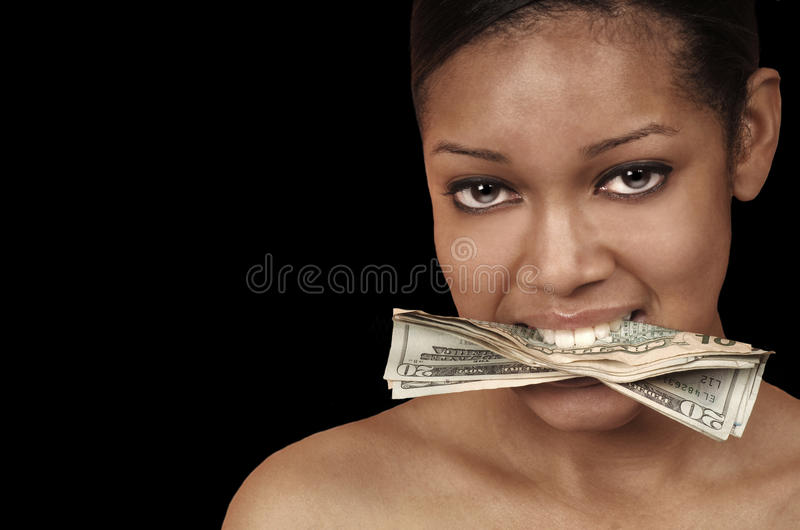 Download Greedy Woman Stock Images - Image: 38354684