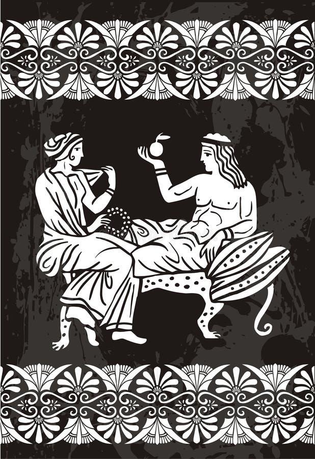 Greek vector illustration