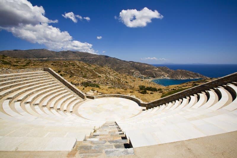 Download Greek Amphitheatre, Greece stock image. Image of singing - 8425285