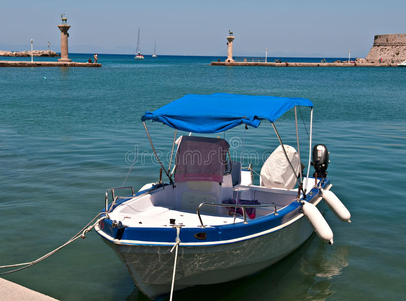 Download Greek Boat Royalty Free Stock Photo - Image: 21344875