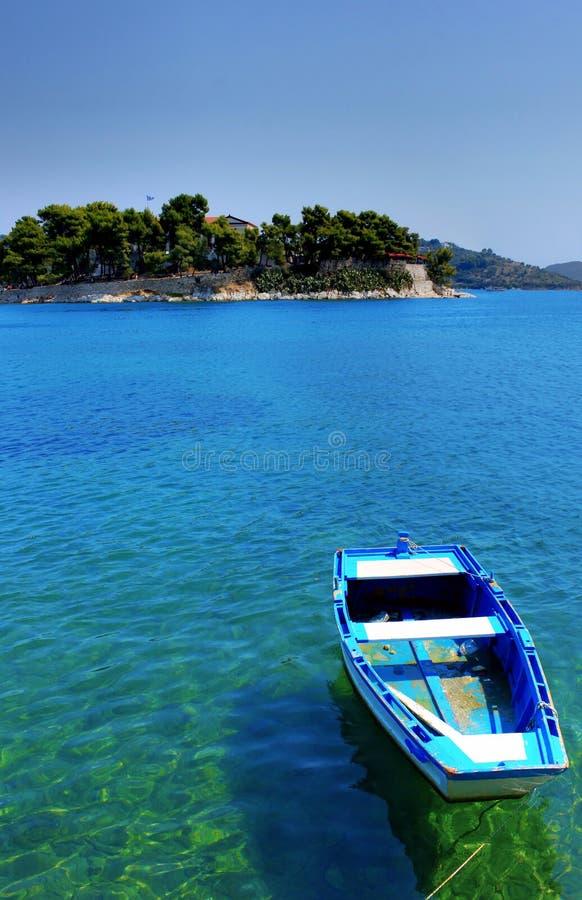 Greek Boat Stock Photography