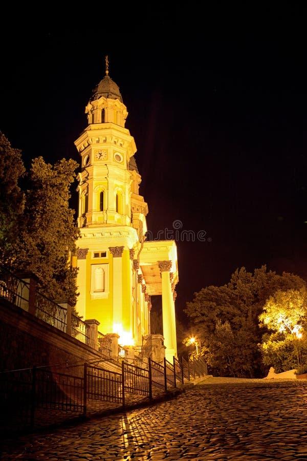 Download Greek Catholic Cathedral Ruthenian Catholic Church In Uzhhorod C Stock Photo - Image: 29342180