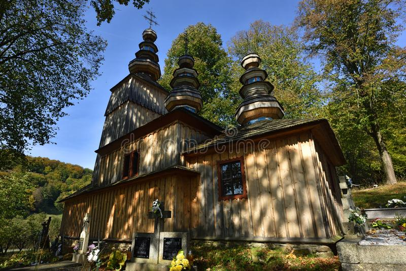 Hunkovce Church, Slovakia royalty free stock photos