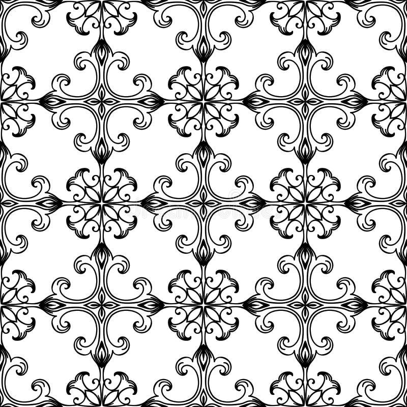 Greek church pattern seamless stock illustration