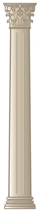 Download Greek column 3 stock illustration. Image of roman, cartoon - 16572988
