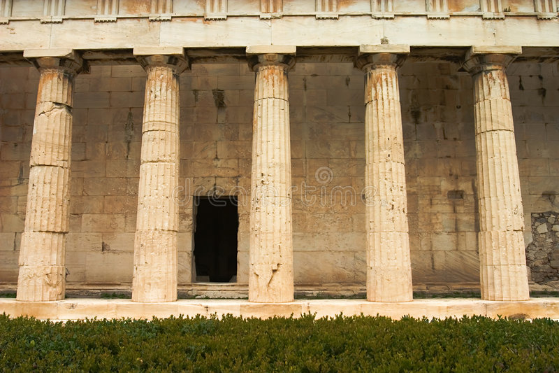 Download Greek Columns Stock Photo - Image: 2148250