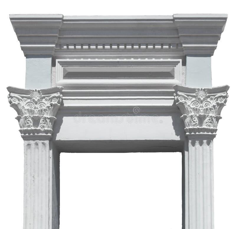 Download Greek columns gate stock image. Image of columns, greece - 20564265