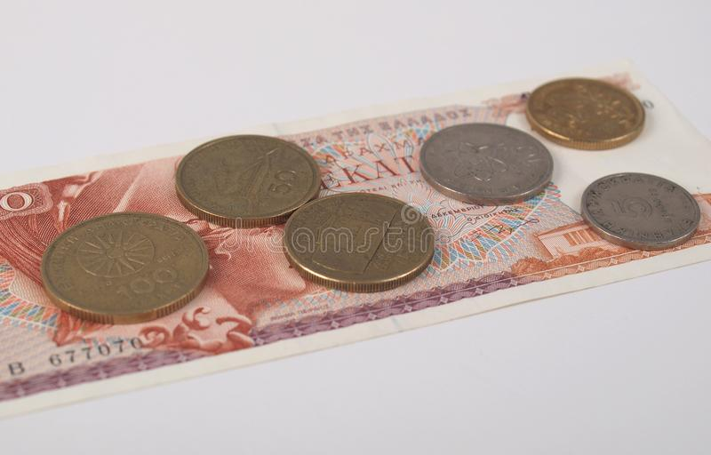 Download Greek Drachmas Royalty Free Stock Images - Image: 26253159
