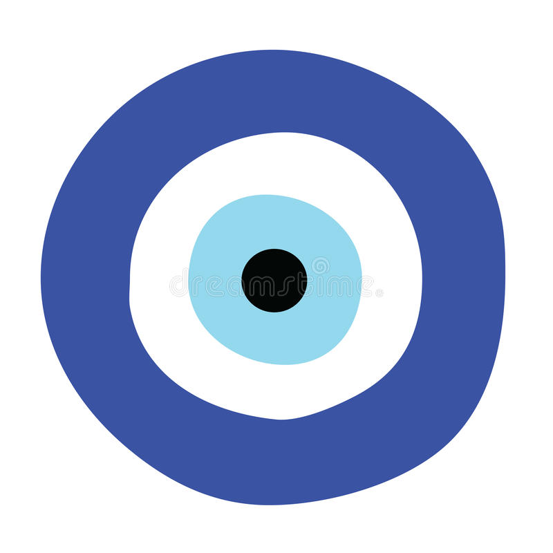 greek evil eye vector symbol of protection stock vector rh dreamstime com eye vector free eye vector eps