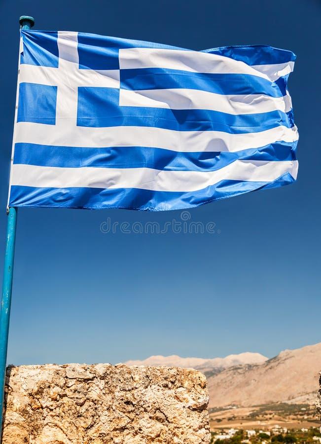 Download Greek Flag stock image. Image of white, blue, patriotism - 35634705