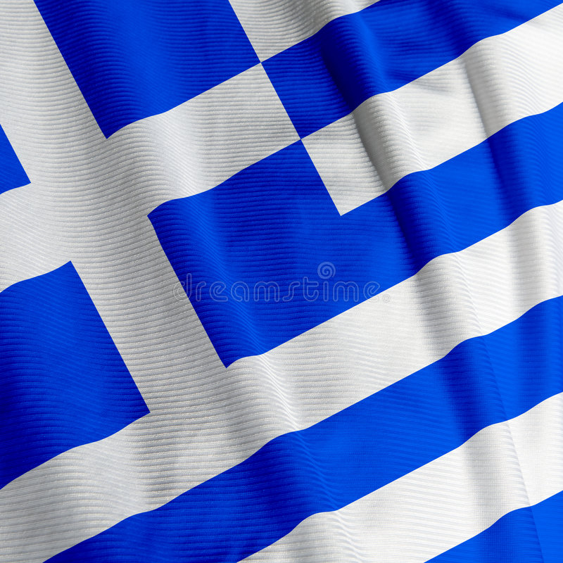 Download Greek Flag Closeup stock image. Image of color, country - 4228953