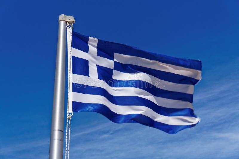 Greek Flag stock image
