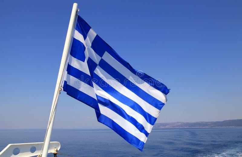 Download Greek flag stock image. Image of brightly, horizontal - 33379485
