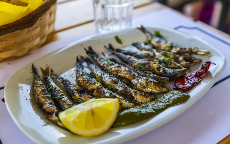 Greek food stock photography